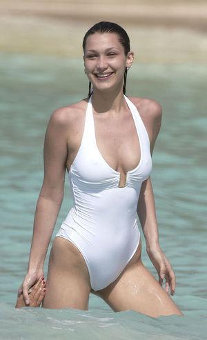 Bella Hadid - for use in online bikini poll