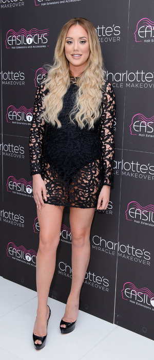 Former Geordie Shore star Charlotte Crosby attends the Easilocks launch party in London, 20th July 2016