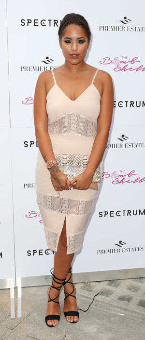 Love Island star Malin Andersson at the Spectrum launch party in London, 21st July 2016