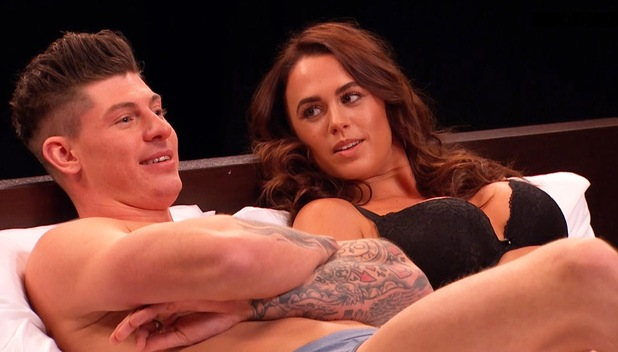 Lauren and Sam who went on Undressed to find love