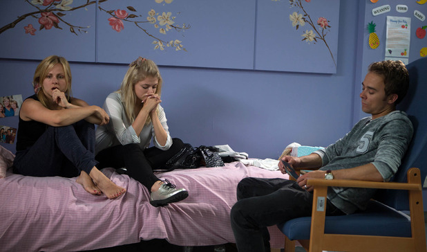 Corrie, David and Bethany tell Sarah about Kylie, Wed 27 Jul