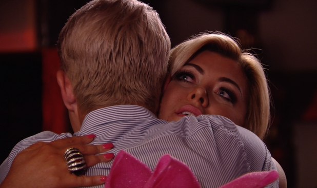 Gemma Collins returns to TOWIE to support Bobby Norris - 24 July 2016
