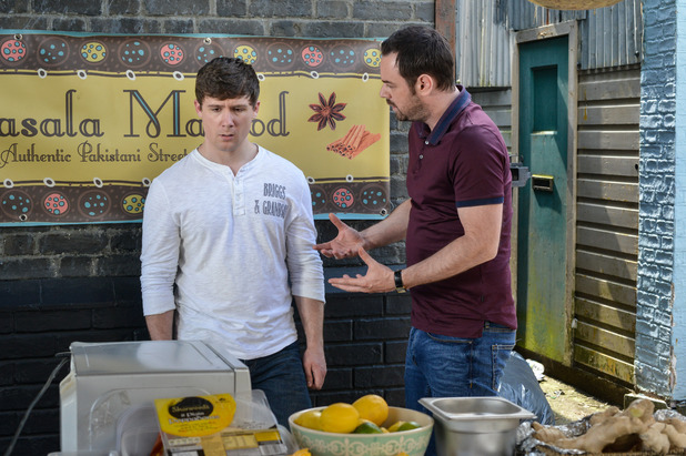 EastEnders, Mick talks to Lee about being a dad, Mon 25 Jul