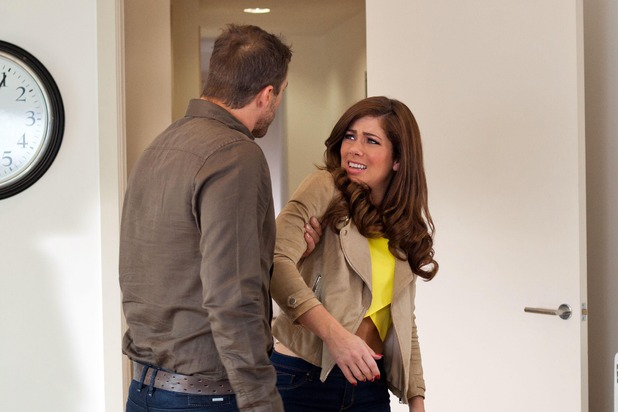 Hollyoaks, Warren angry with Maxine, Fri 22 Jul