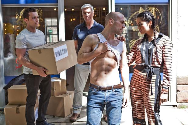 Hollyoaks, Mac jealous of Neeta and Adam, Mon 25 Jul