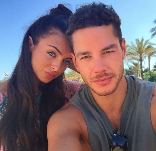 Kady McDermott and Scott Thomas reunite in Ibiza after three days apart - 24 July 2016