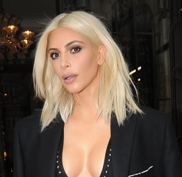 Kim Kardashian out and about during Paris Fashion Week, 3/10/2015