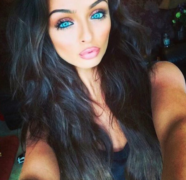 Love Island star Kady McDermott unveils her much darker and longer hair on Instagram, 19th July 2016