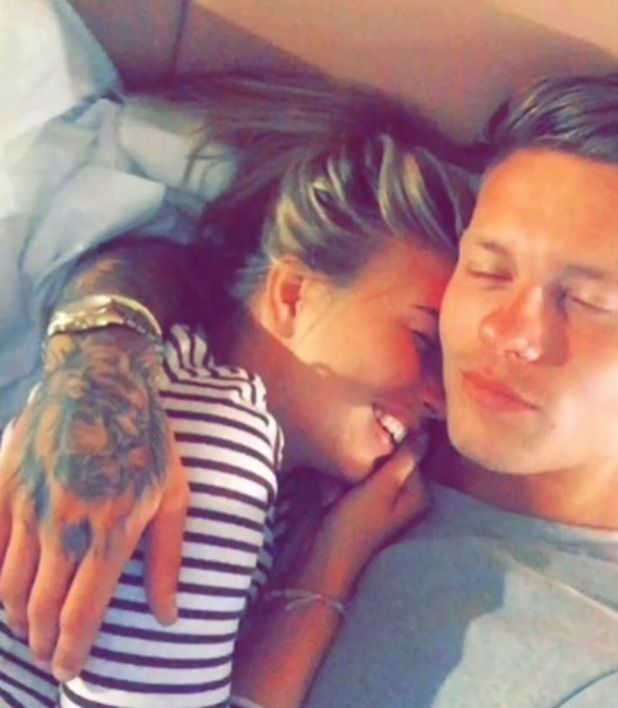Olivia Buckland and Alex Bowen, 17 July