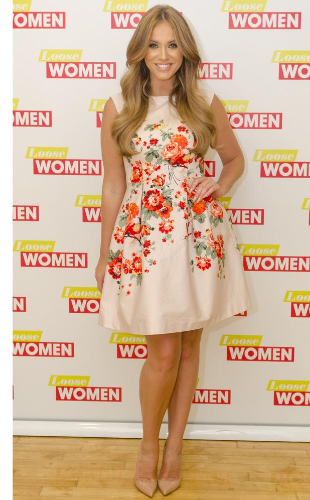 Former Geordie Shore star Vicky Pattison appears on Loose Women, ITV Studios, London, 20th July 2106