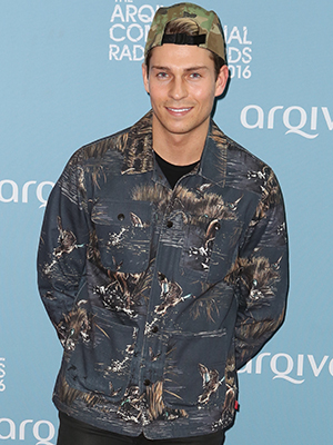 Guests attend Arqiva Commercial Radio Awards 2016 Joey Essex