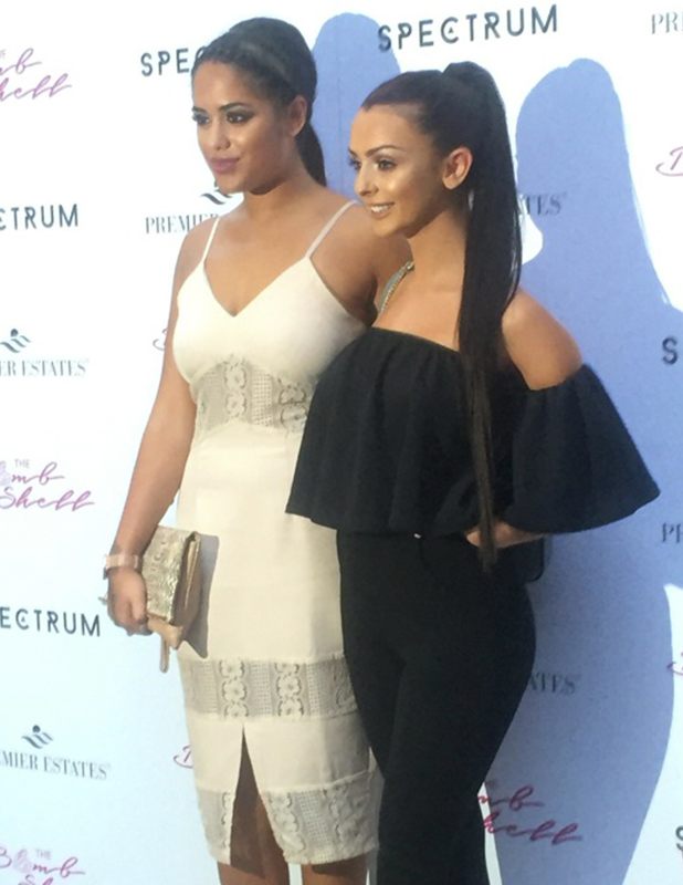 Kady McDermott and Malin Andersson at Spectrum launch party London, 21 July 2016