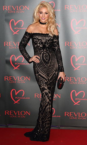 Revlon's Choose Love Masquerade Ball held at the Victoria and Albert Museum Michelle Keegan 21 July 2016