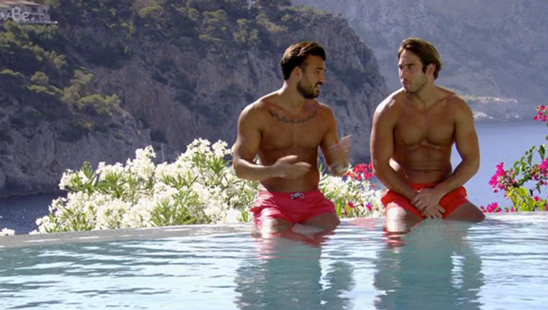 TOWIE Series 18, Episode 2 Mike Hassini talks to Lockie 20 July 2016