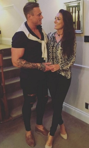 Sophie Gradon and Tom Powell 28 July