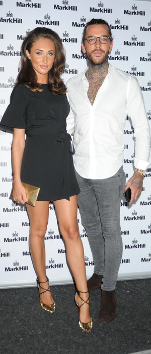 TOWIE's Megan McKenna and Pete Wicks at the Mark Hill hair Pick 'N' Mix launch party, London, 27th July 2016