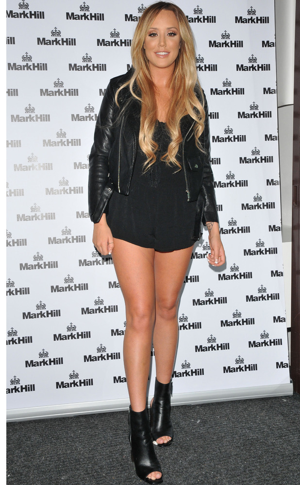 Former Geordie Shore star Charlotte Crosby at the Mark Hill Hair Pick 'N' Mix Launch event in London, 27th July 2016