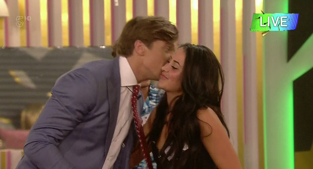 Marnie Simpson and Lewis Bloor on Celebrity Big Brother launch night 28 July