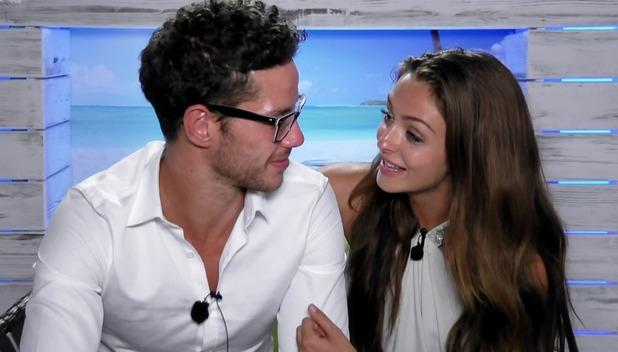 Kady McDermott and Scott Thomas, Love Island July 2016