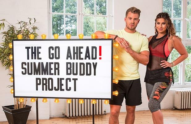 Ferne McCann, go ahead! Summer Body Project 26 July