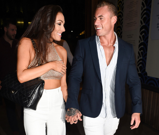 Sophie Gradon and Tom Powell, Manchester 22 July