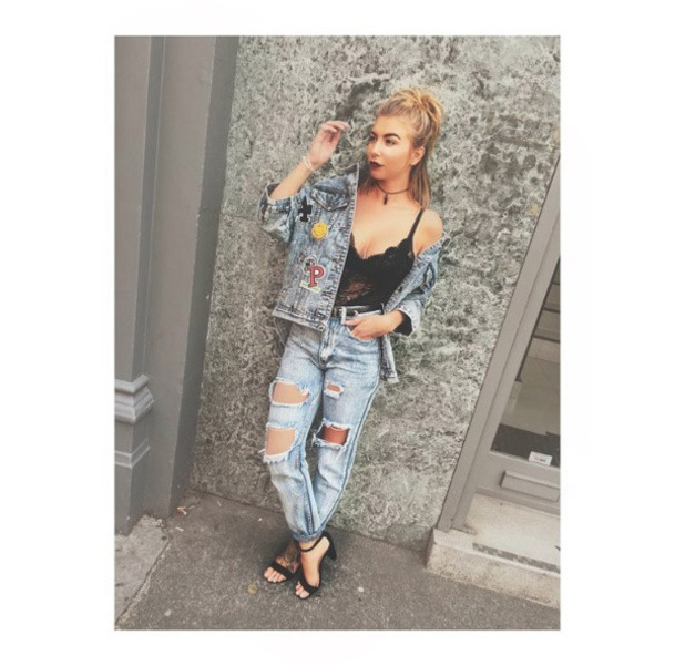 Love Island's Olivia Buckland wearing head-to-toe Lasula Boutique, Essex, 28th July 2016