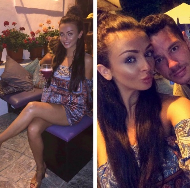 Kady McDermott and Scott Thomas return from Ibiza break - 26 July 2016