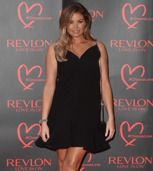 Jess Wright attends the Revlon beauty ball, London 21 July