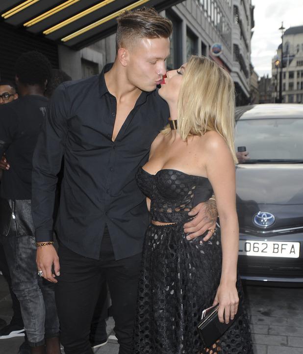 Alex Bowen and Olivia Buckland, London 26 July