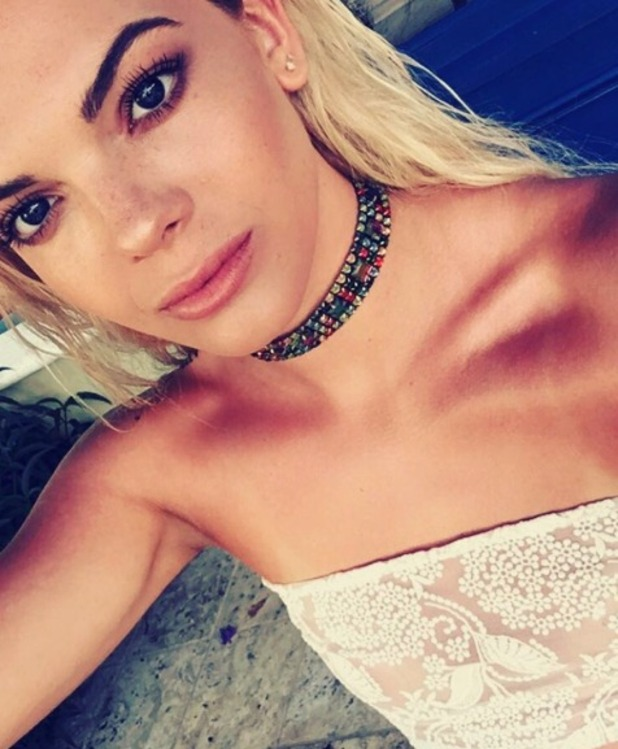 X Factor's Louisa Johnson, selfie, 3 July 2016