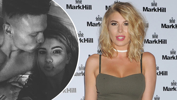 Alex Bowen and Olivia Buckland after Love Island final 11 July Olivia at Mark Hill Hair Launch, London, 27 July 2016