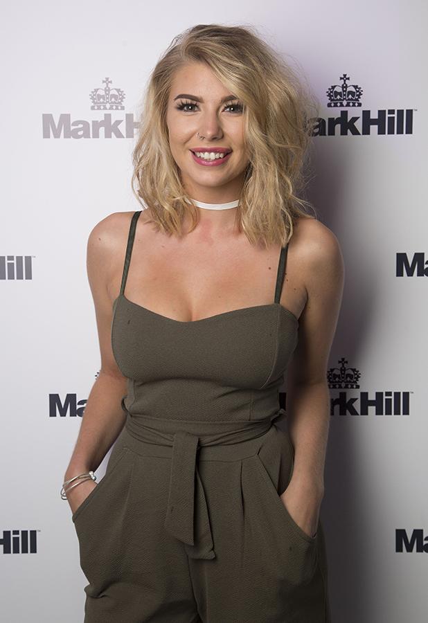 Olivia Buckland at Mark Hill Hair Pick N Mix Launch London, 27 July 2016