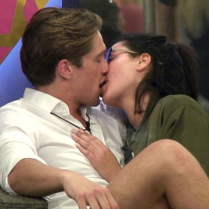 CBB: Marnie Simpson and Lewis Bloor kiss 1 August