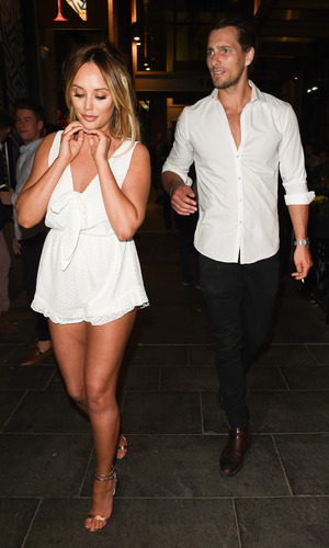Charlotte Crosby and Ash Harrison step out together in Manchester 24 July