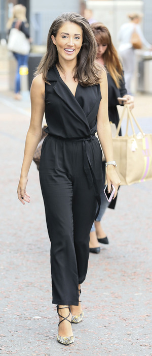 Megan McKenna out and about in London, 4th August 2016