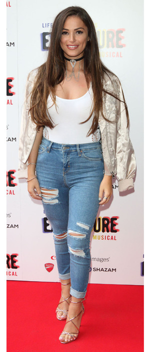TOWIE star Courtney Green attends the press evening for Exposure the Musical, London, 4th August 2016