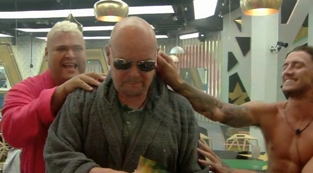 CBB: James Whale and Stephen Bear clash in a food fight 1 August