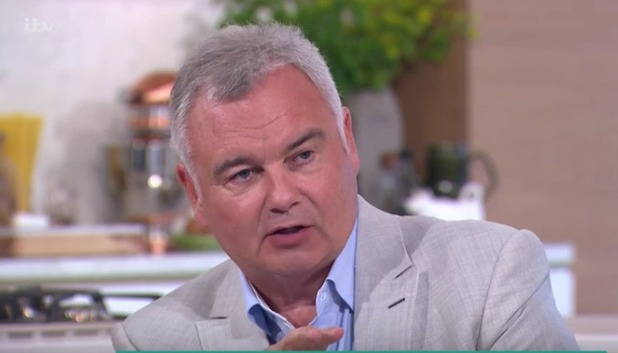 Eamonn Holmes on This Morning talking about CBB 3 August 2016