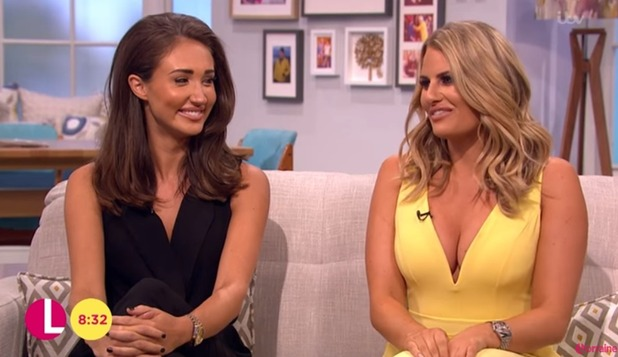 Megan McKenna and Danielle Armstrong on Lorraine 5 August 2016