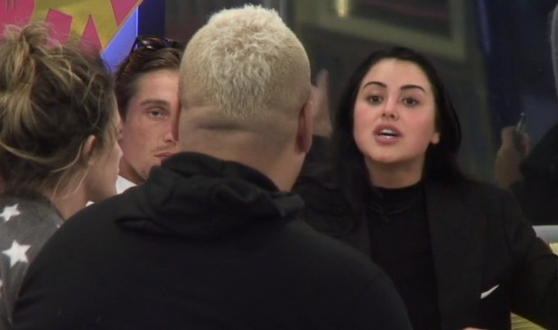 CBB: Marnie Simpson loses her cool with Heavy D 2 August