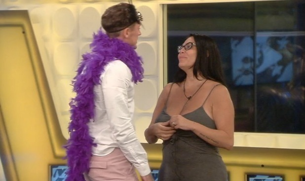 Stephen Bear and Renee Graziano, Celebrity Big Brother 2 August