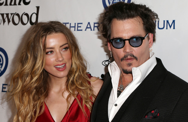 Johnny Depp and Amber Heard The Art of Elysium Presents Vivienne Westwood & Andreas Kronthaler's 2016 HEAVEN Gala 10/01/2016 Culver City, United States