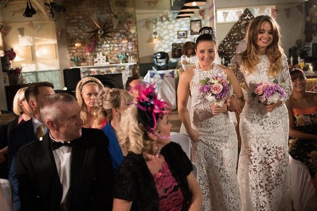 Hollyoaks, Esther and Kim get married, Thu 4 Aug
