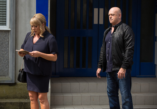 EastEnders, Sharon comes face to face with Grant, Fri 5 Aug