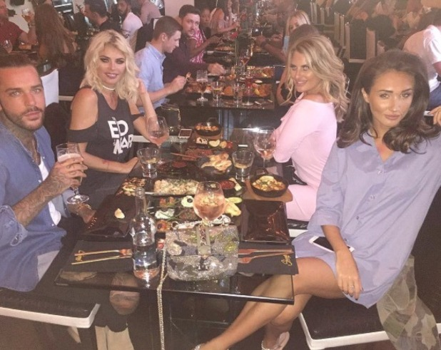 Megan McKenna visits Sheesh after row with Chloe Meadows - 1 Aug 2016