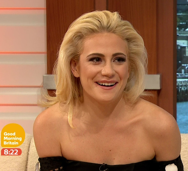 Pixie Lott talks about her West End role in 'Breakfast At Tiffany's' on 'Good Morning Britain'. Broadcast on ITV1HD, 1 August 2016