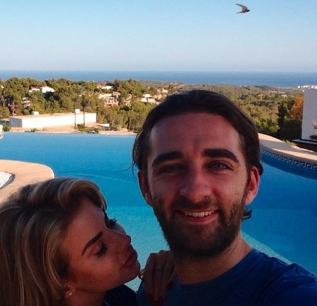 Hannah Elizabeth and boyfriend George Andreetti move to Spain 3 August