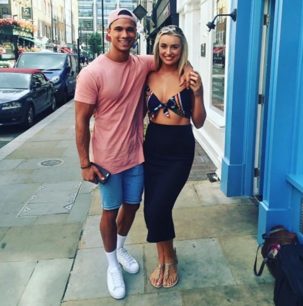 Rachel Fenton and Rykard Jenkins pose for a new picture in London - 3 Aug 2016