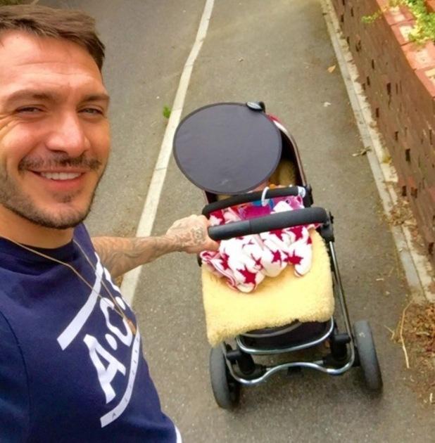 Kirk Norcross and daughter Violett, Instagram 3 August