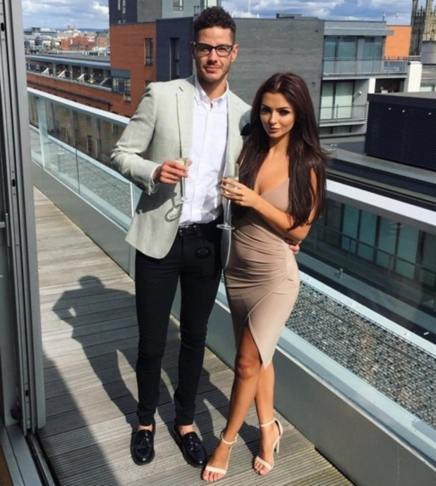 Scott Thomas and Kady McDermott in Manchester 1 August